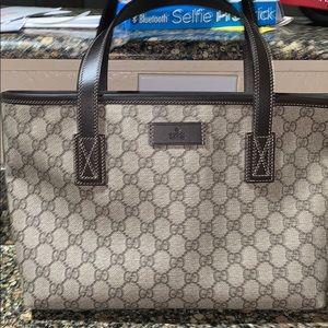 Authentic Gucci tote bag brand new